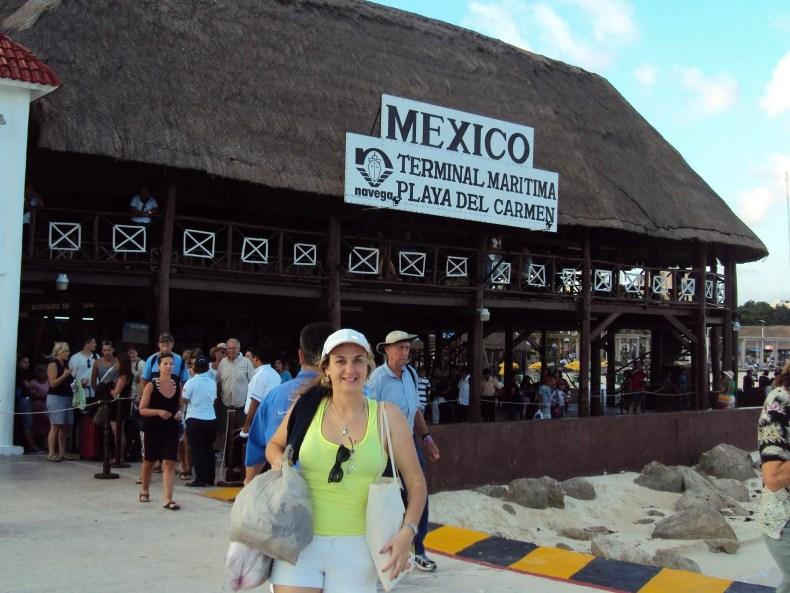 Terminal Maritmo de Playa Del Carmen, México