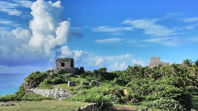 Ruínas Maya em Cancún