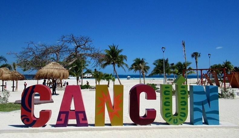 Praia de Cancún, Playa Langosta, Riviera Maya
