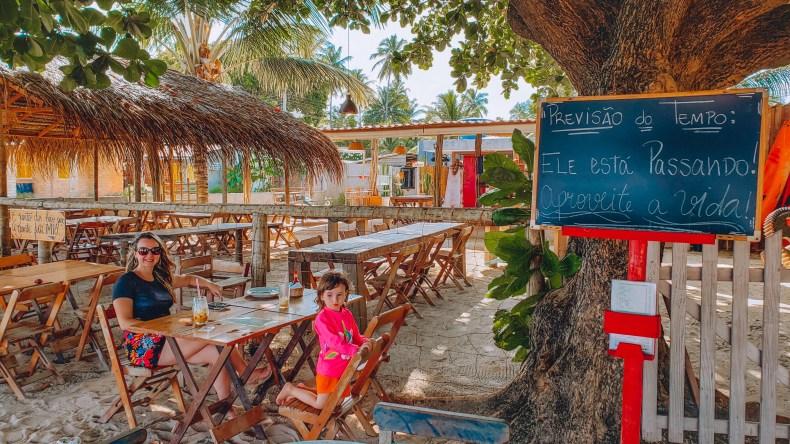 Restaurante Corais dos Milagres, Alagoas