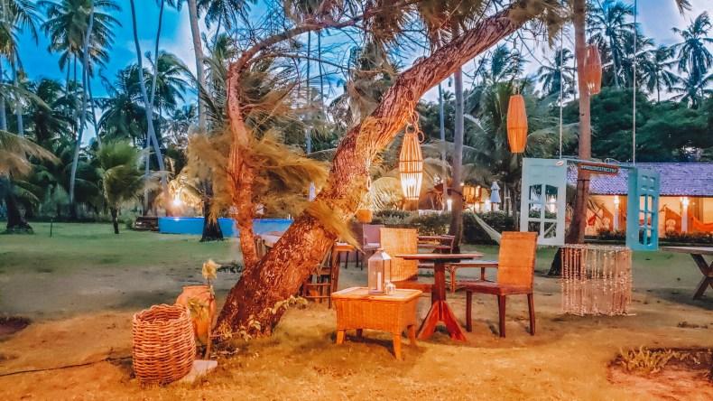 Restaurante Eden na pousada Paraíso dos Carneiros