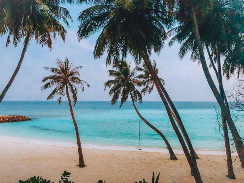 As Maldivas são mundialmente conhecidas por suas praias de águas cristalinas. Foto: Guilherme Sodré @jguisodre @promilhas