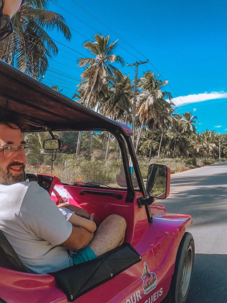 passeio de Buggy em Milagres, Alagoas