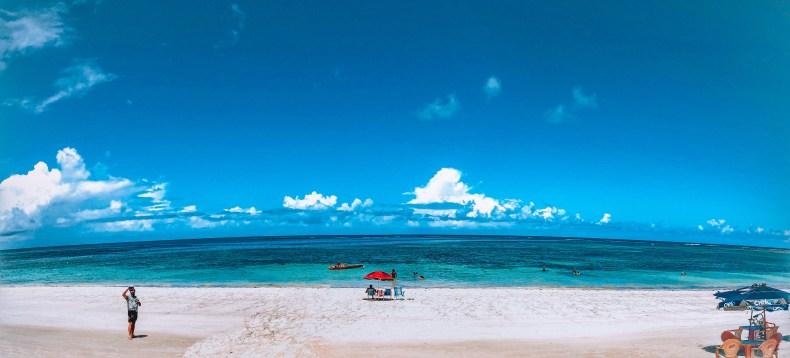 mar azul na praia de campas, Tamandaré, Pernambuco