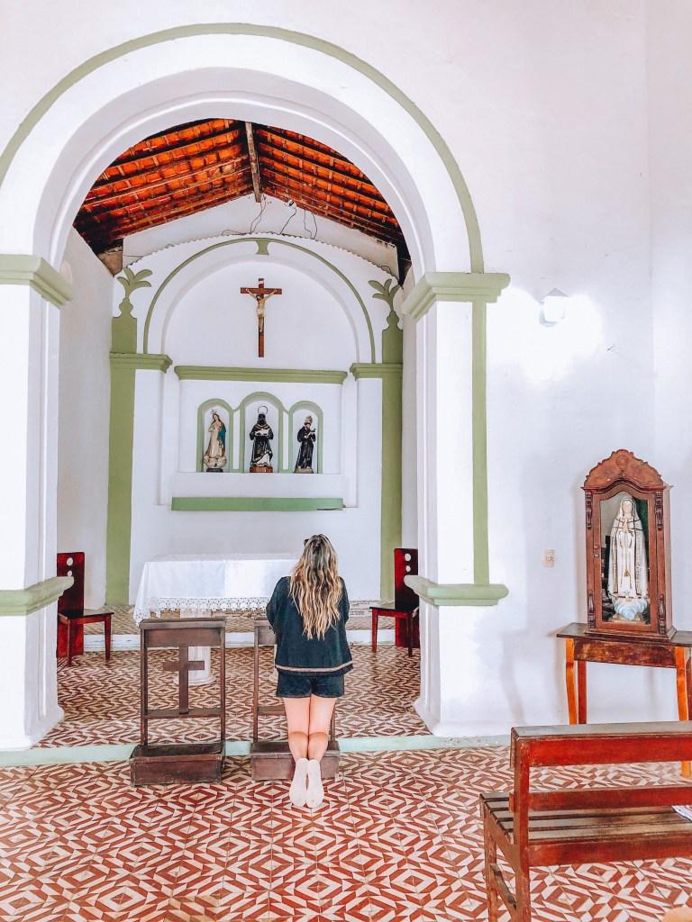 Igreja de São Benedito na Praia dos Carneiros, Tamandaré, Pernambuco