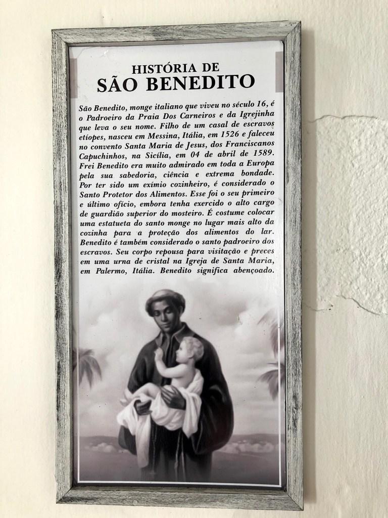 história de São Benedito