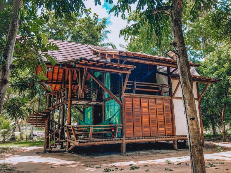 Bangalô na pousada paraíso dos carneiros