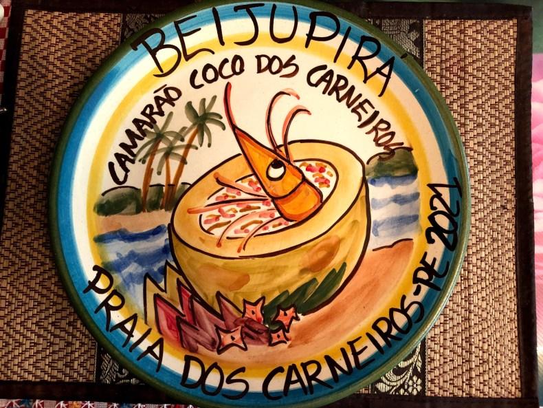 Prato da Boa Lembrança no restaurante Beijupirá, Praia dos Carneiros, Tamandaré