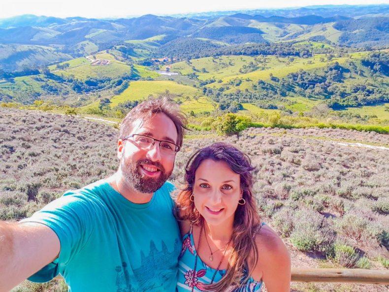 Um dos lugares mais românticos em SP: Lavandário em Cunha SP