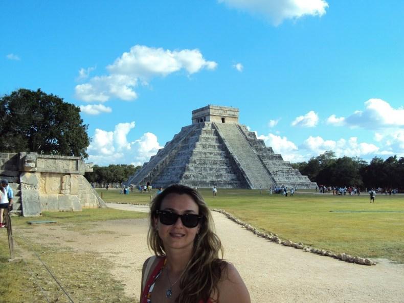 Quem já visitou o México achou que ele é um dos países mais baratos para se viajar? A pirâmide de Chichén Itzáfoi eleita uma das Novas Sete Maravilhas do Mundo.