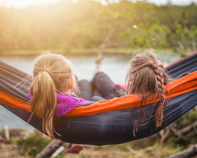 Hammocks are wonderful way to relax, or sleep off a hangover, and are colourful and cool too.