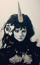 Anita Pallenberg (The Black Squeen in Barbarella)