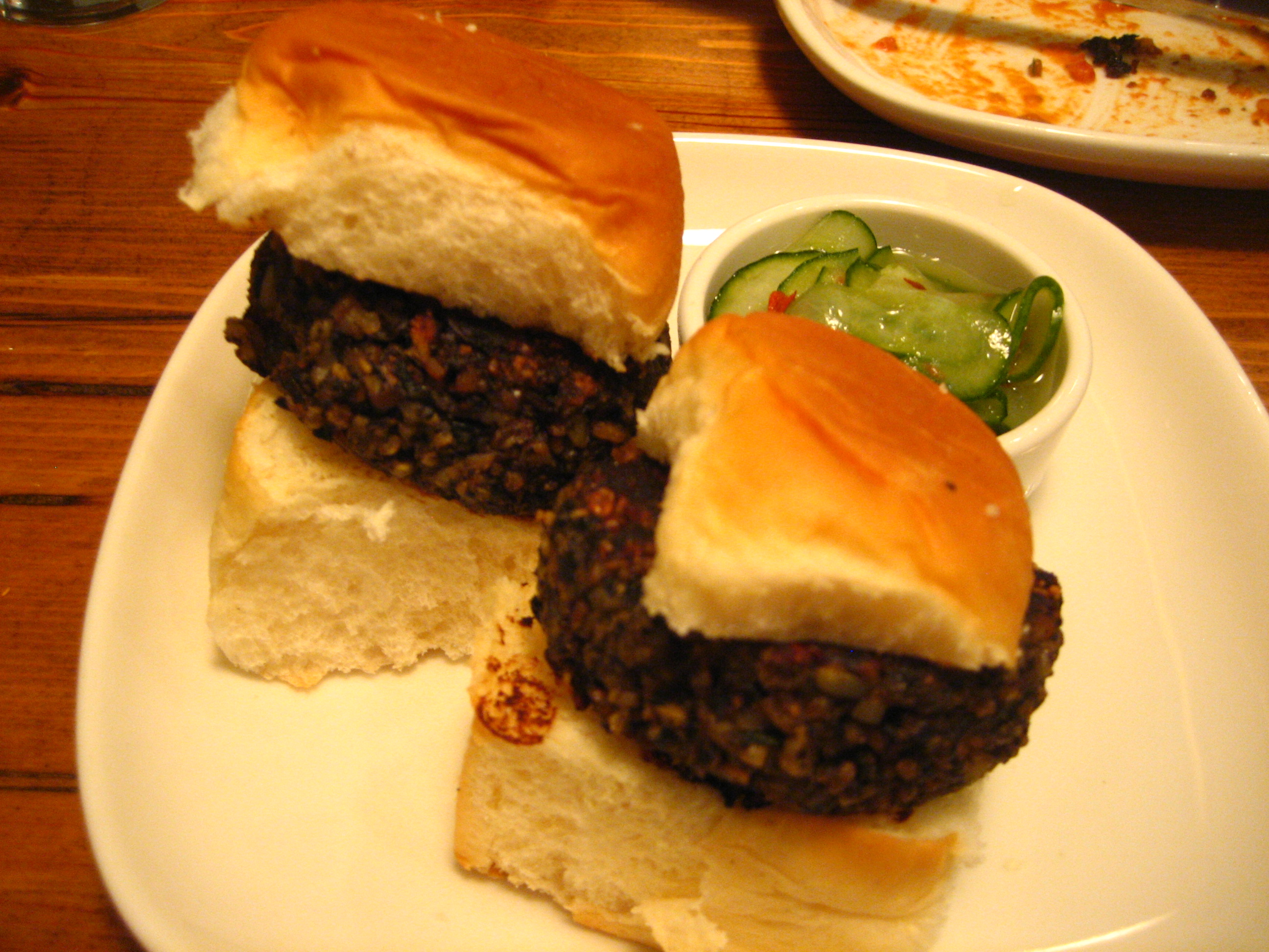 Sliders..but I couldn't shake my meat cravings