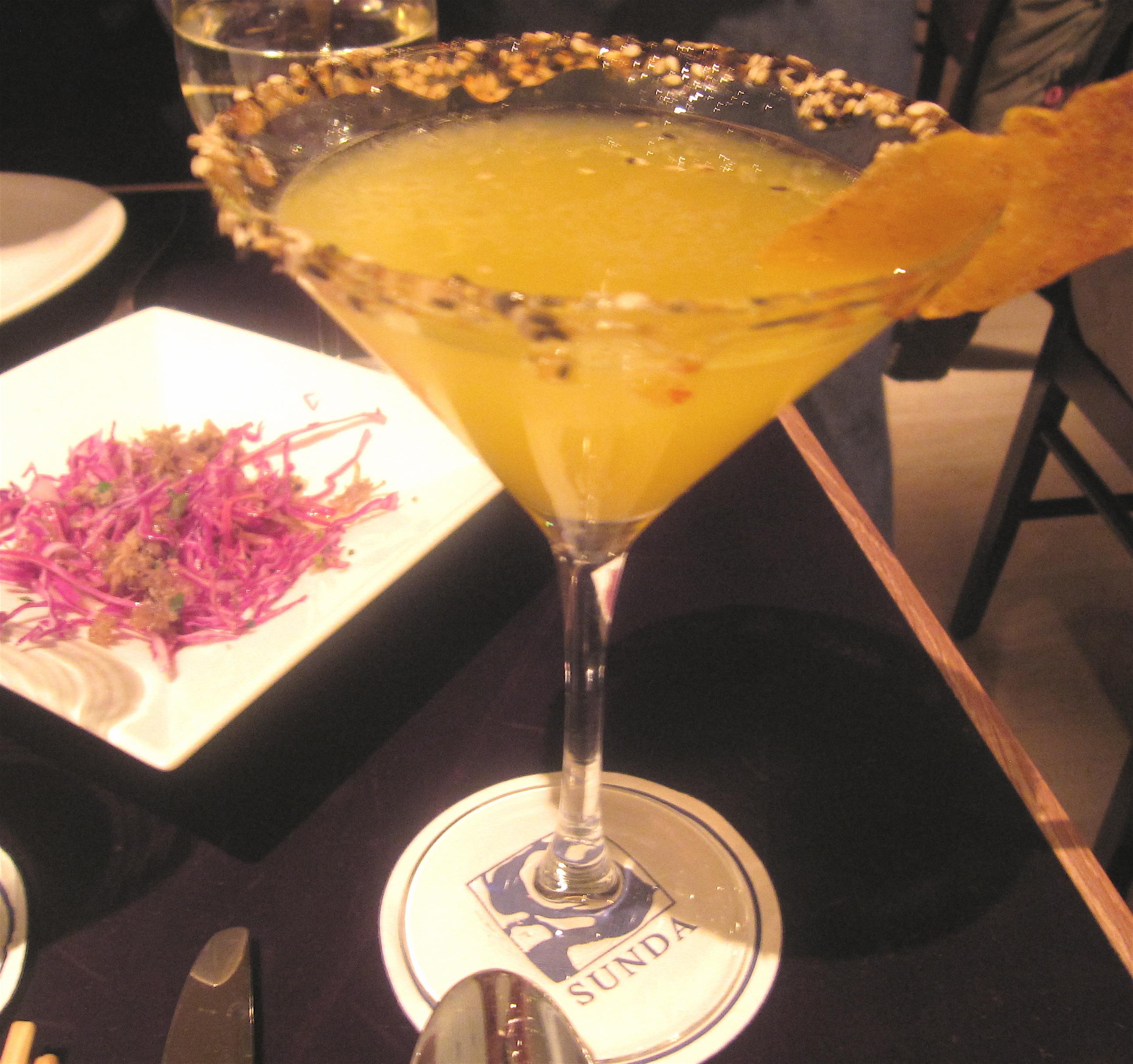 Kung Pao Mango Martini
