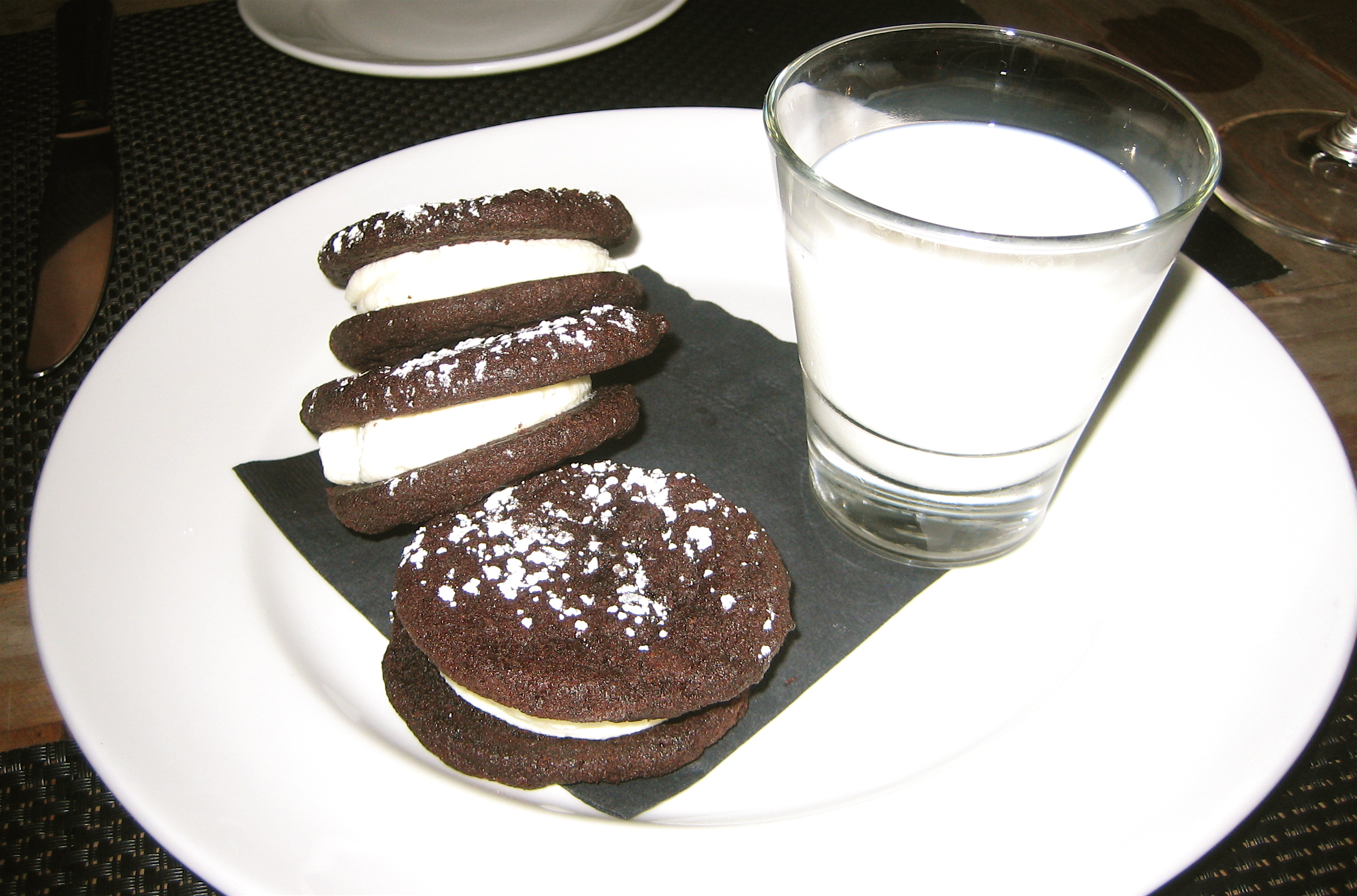 Aja Oreos and Traderspoint Creamery Milk