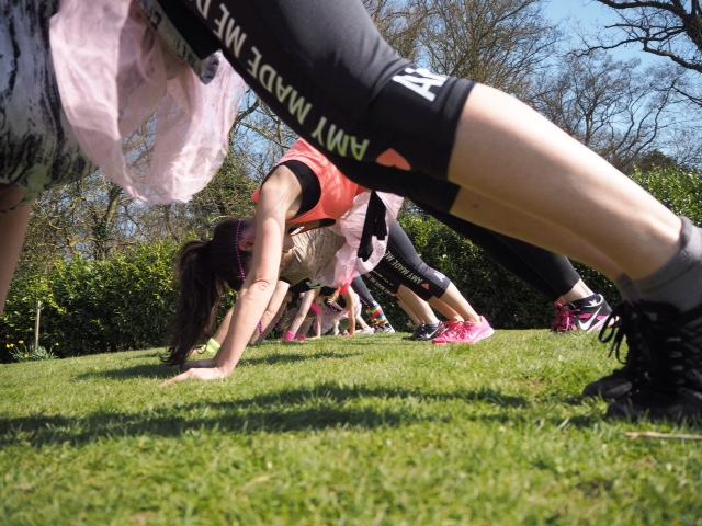 Eliza Flynn WARRIORRR MAX bootcamps - healthy living in London
