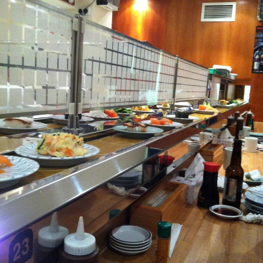 Cheap Eats in London: Kulu Kulu Sushi
