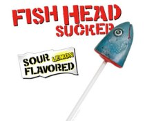 Best Halloween Treats - Fishhead Lollipop