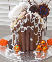 Halloween Gingerbread House - Not on the High Street