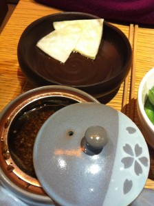 Soba Cha Tea at Shoryu Ramen, Japanese restaurant in Piccadilly Circus