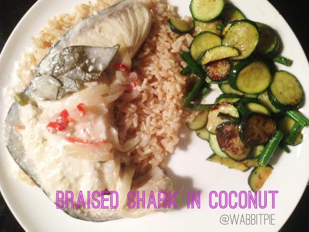 How to cook shark: A recipe for braised shark in coconut