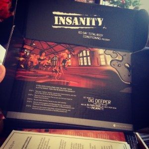 Insanity DVD Box