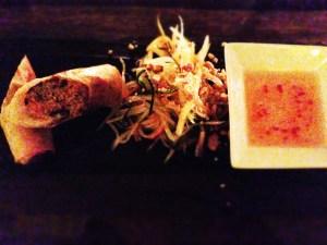 Thuys Viet Kitchen - spring roll