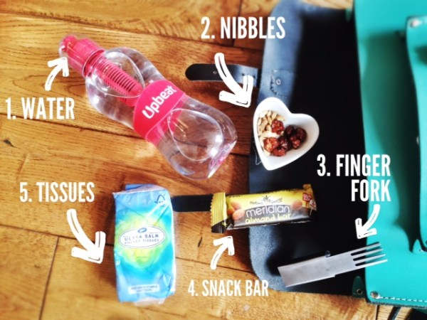 Hungry girl Handbag essentials