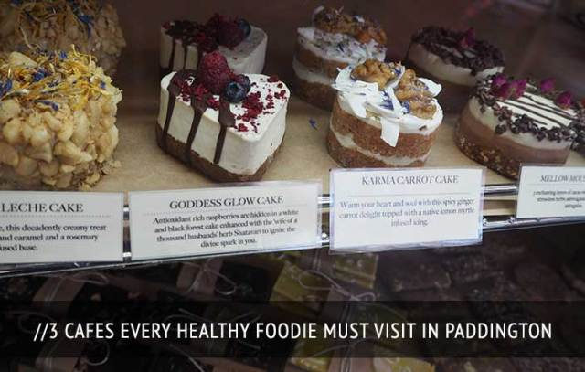 3 Healthy Cafes in Paddington Sydney