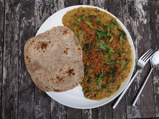 HelloFresh review - Veggie Box coconut lentil curry
