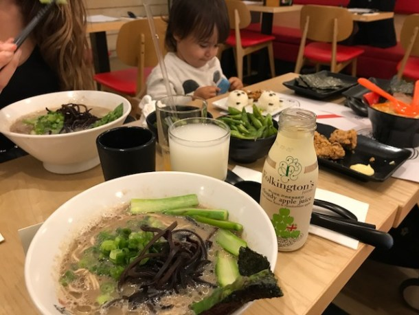 Kanada-Ya kids menu review