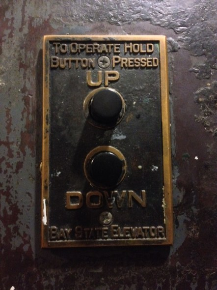 The 6th elevator ever made in CT... still in great working order!