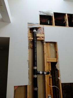 The illusive vent stack.