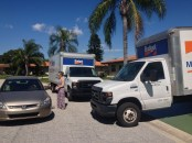 A story for another time... Sarasota, FL with Budget trucks x2. [February 2014]
