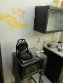 Bobo + Kitty's heart-shaped waffle maker! Mmmm!
