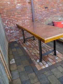 Copper table finds her place at Amber Lane!