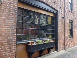 Our Gallery window box comes to life!