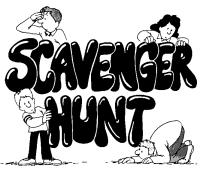 Spring 2020 YA Scavenger Hunt
