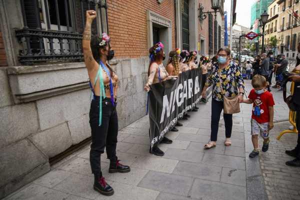 Femen en europa