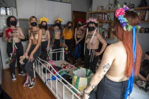 Femen en europa1