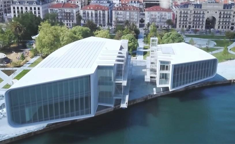 Inauguración de el Centro Botín en Santander.