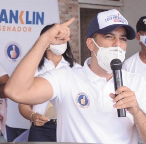 Julio César Lizardo, coordinador del Movimiento en la Provincia Duarte.