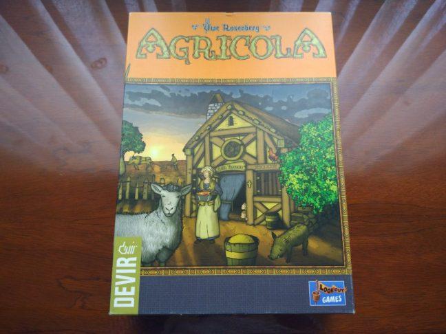 Portada de Agricola