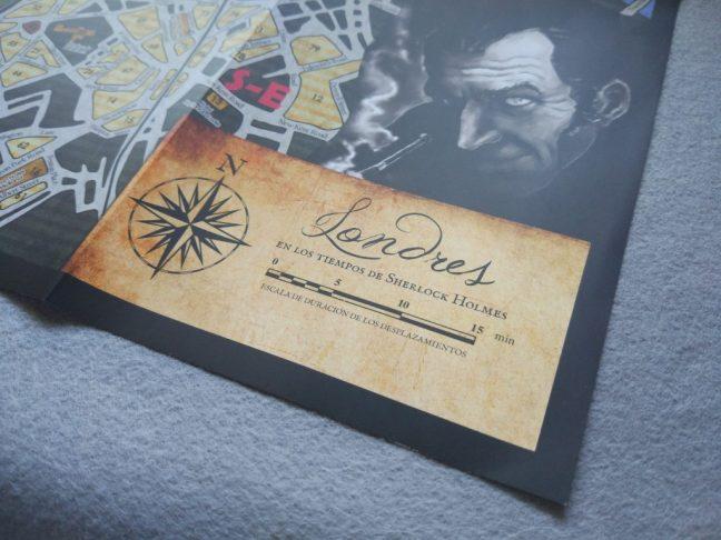 Detalle mapa Sherlock Holmes Detective Asesor