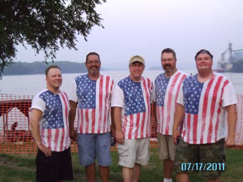 Uncle Sam's Band plays Elkader Sweet Corn Days