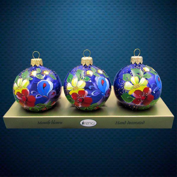 Шар на елку от Ирена Ко Бабочка в цветах