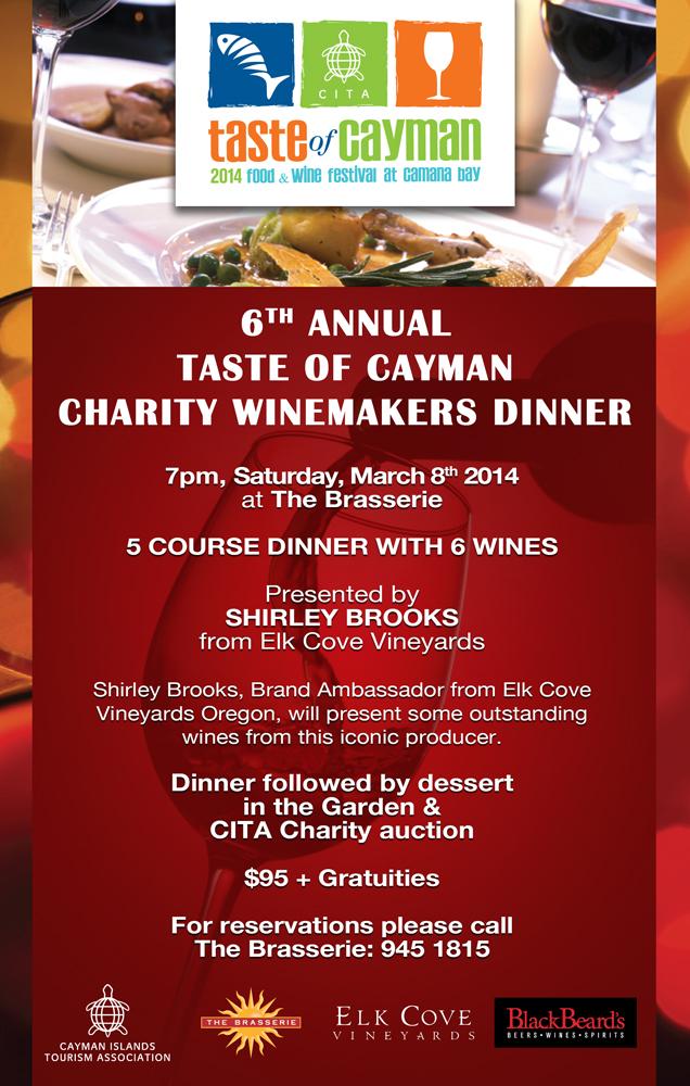 Taste of Cayman Charity Dinner