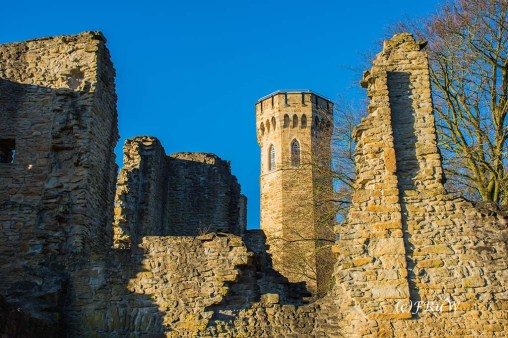 Ruine Hohensyburg und Vincketurm