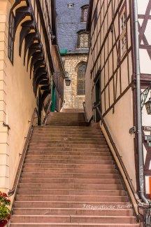 Treppe des Rathauses
