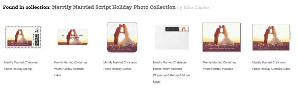 How the products form a Zazzle Collection appear in the Related Products Section on the Zazzle Product Page